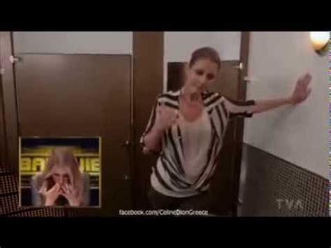 singing in bathroom celine dion ren 233 angelil her husband singing together doovi