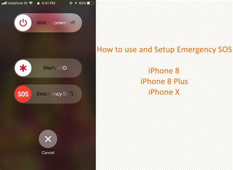 how to setup use emergency sos on iphone in ios 12 3 1 ios 12