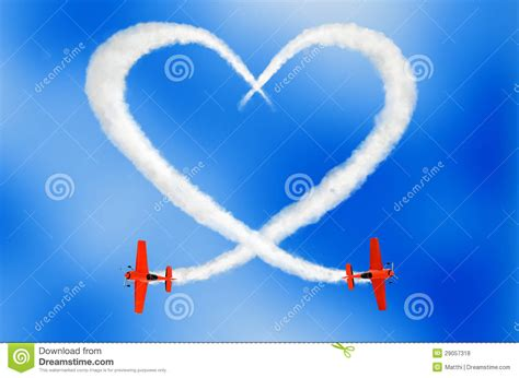 imagenes love is in the air cloudy love is in the air concept stock photo image