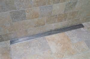 Schluter Kerdi Shower Bench Linear Shower Drain Quartz By Aco Linear Drain
