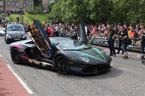 lamborghini rally car gumball 3000 rally 2014 in edinburgh austin tate s blog