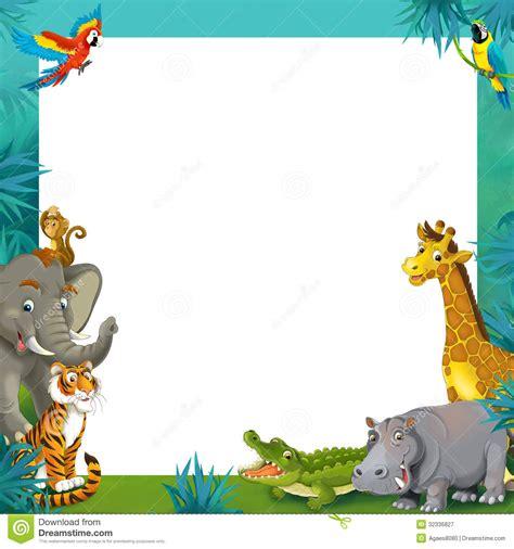 safari clipart border pencil and in color safari clipart