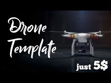 Drone Intro Template Free After Effects Drone Intro Template Youtube