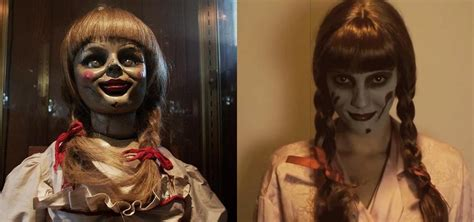 haunted doll halloween costume this diy annabelle doll costume from the conjuring will
