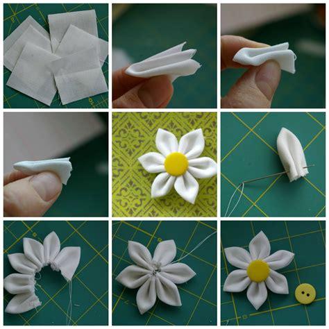 paso a paso como hacer flores de tela paso a paso pictures to pin on