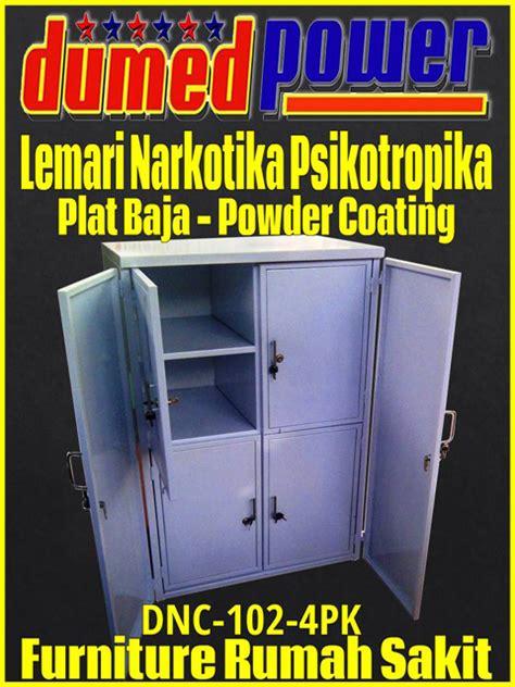 Lemari Obat Narkotika lemari narkotika psikotropika plat baja powder coating dnc