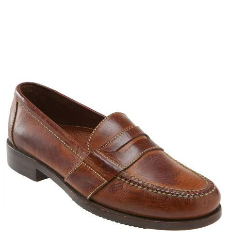 cole haan loafers for cole haan douglas loafer in brown for saddle lyst