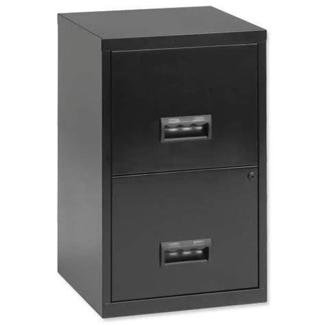 Cassey Drawer Black Limited henry 2 drawer a4 lockable steel filing cabinet black ref 095010 095010