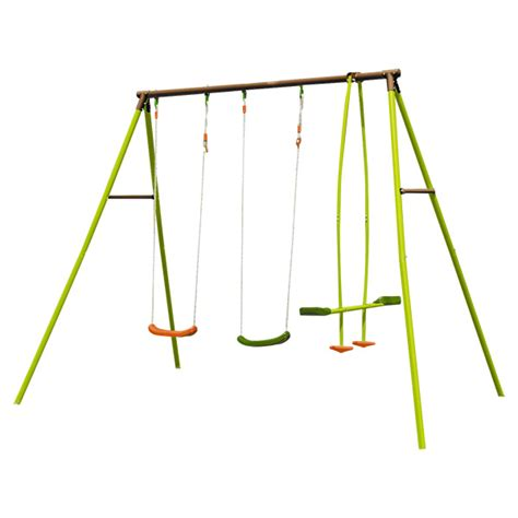 balancoire pour portique balancoire de jardin en acier portique pour enfants soulet