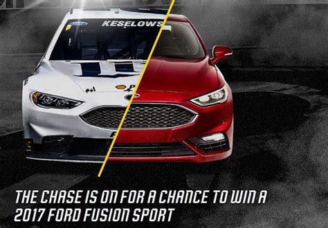 Chase Sweepstakes 2016 - ford chase for the nascar sprint cup sweepstakes sweepstakesbible