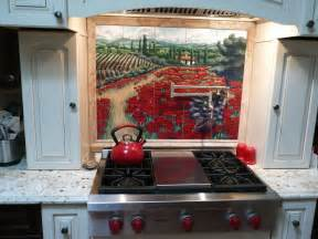 Kitchen Tile Murals Tile Backsplashes Kitchen Backsplash Tile Mural Custom Tile And Tile Murals