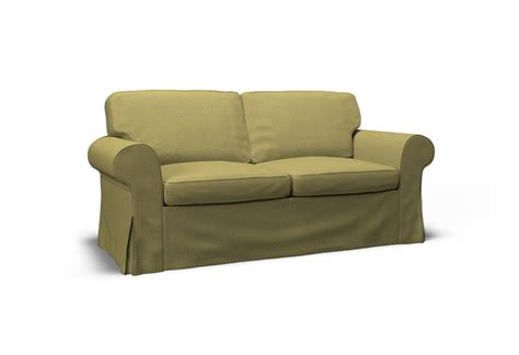Ikea Ektorp Sofa Bed Cover Ektorp Two Seat Sofa Bed Cover Event Yellow Green By Covercouch