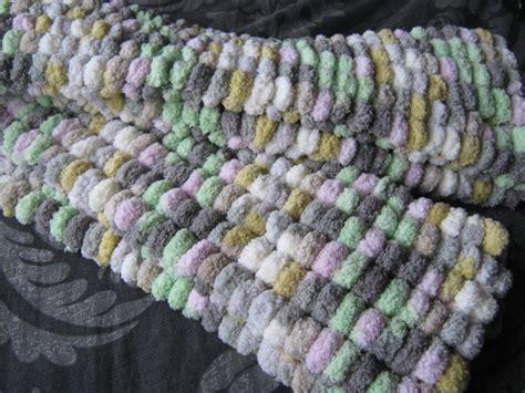 pom pom knitting patterns kazzys creations knitting with pom pom wool