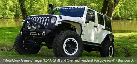 Jeep Wrangler Metalcloak Fenders Jk Jk Unlimited Bumpers Fenders Suspensions Lift Kits