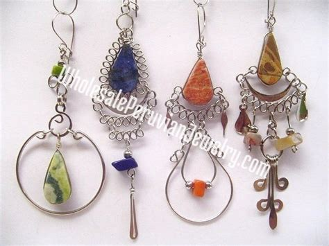 Handmade Peruvian Jewelry - 1000 images about earrings wholesale peruvian jewelry