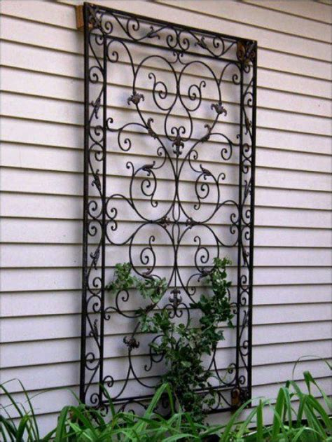Garden Wall Decoration Ideas Best 25 Outdoor Wall Decorations Ideas On