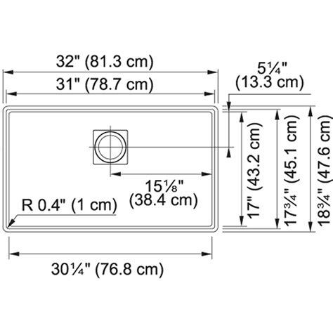 Kitchen Sink Specifications Franke Pkg11031sto Peak 32 Inch Undermount Single Bowl Granite Kitchen Sink In Franke Sink