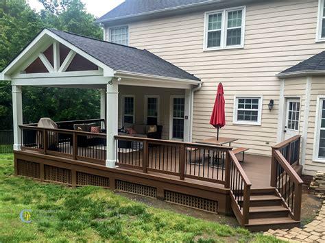 covered porch  charlotte decks  porches llc