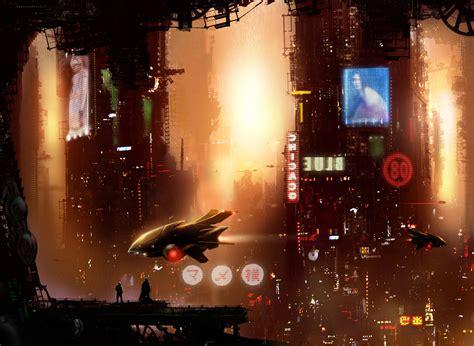 cyberpunk city concept environment sci fi concept art mameyoko picture 2d sci fi concept art city cyberpunk