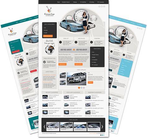 Dj Car Company Responsive Joomla Template For Garage Vehicles Dj Classifieds Template