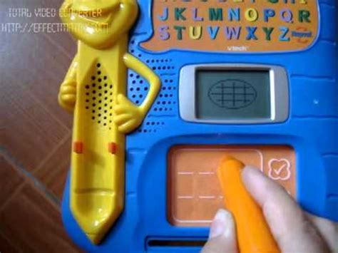 vtech write and learn vtech write learn letter pad youtube