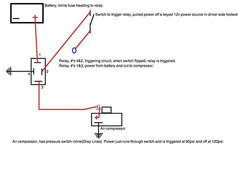 air compressor pressure switch wiring diagram wiring