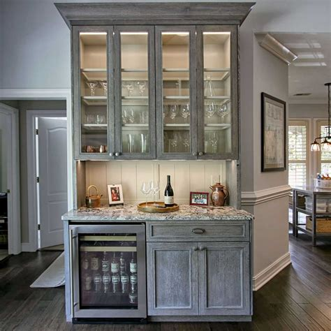 Kitchen Cabinet Trim Ideas by Cerused Oak Remodel With Custom Cabinets Walker Woodworking