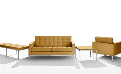 knoll bench florence knoll three seat bench hivemodern com