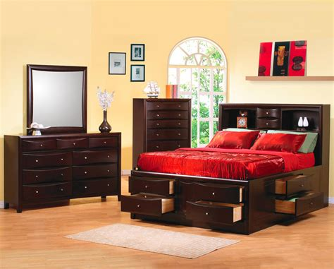 phoenix storage bed bedroom set bedroom sets