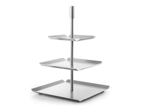 Etagere 3 Stöckig Obst by Etagere 3 Stufen Edelstahl Matt Zack Design Piano
