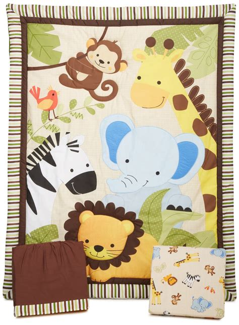 jungle baby bedding total fab jungle theme baby bedding