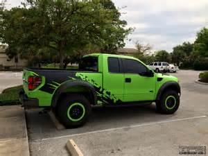 green ford raptor