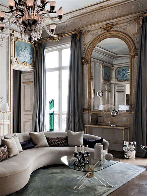 glam living room glam i how airy and light and spacious this feels timeless living room decor