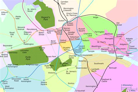 london sections map download map of london neighborhoods and attractions