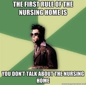 Nursing Home Meme - home health care nurse