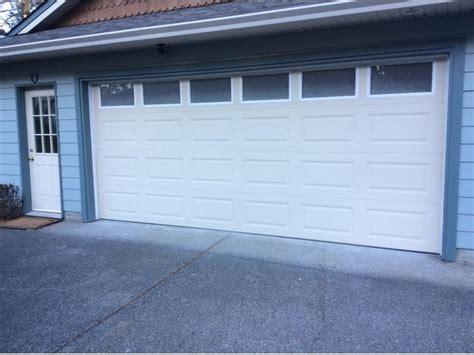 16 garage door garage door 16 foot sooke