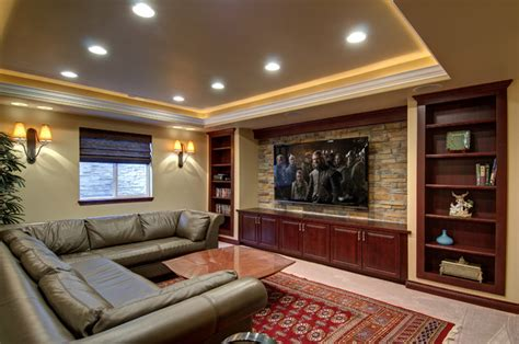 luxury basement remodeling loans design for garden decor ideas basement home theater tv wall traditional basement