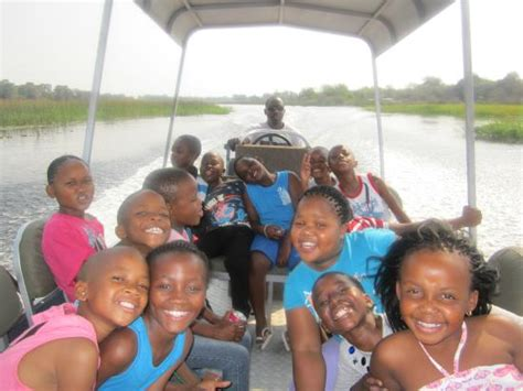 boat cruise maun boat cruise along the thamalakane river picture of maun