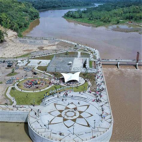 bendung kamijoro jembatan viral  bantul jogja wisatakaka