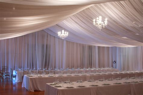 Wedding Tent Ceiling Draping Package   Tent Draping for