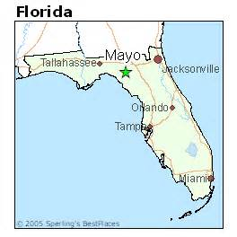 mayo florida map best places to live in mayo florida