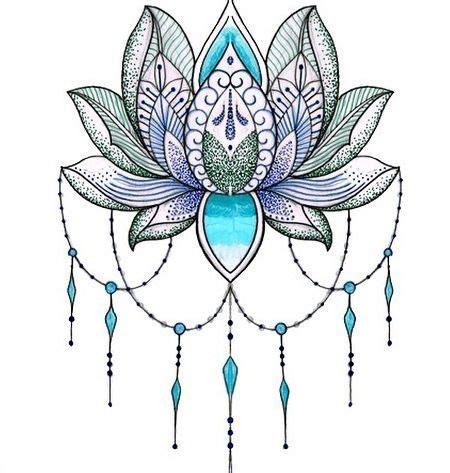 lotus pattern drawing lotus flower tattoos pinterest lotus flower lotus