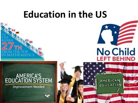 in usa education in the usa