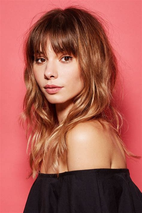 deep side part and long bangs hair beauty pinterest 224 best images about hair styles on pinterest wispy