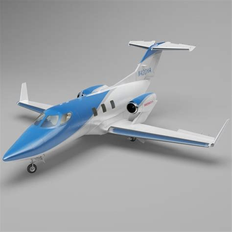 model commercial jets 3d model business jet honda ha 420