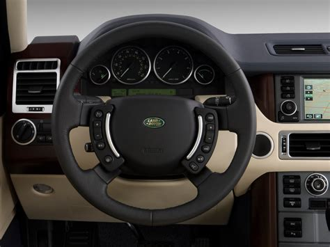 range rover steering wheel 2009 land rover range rover hse land rover luxury suv