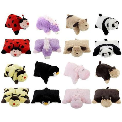 the original 18 quot pillow pets with velcro straps eenhoorn