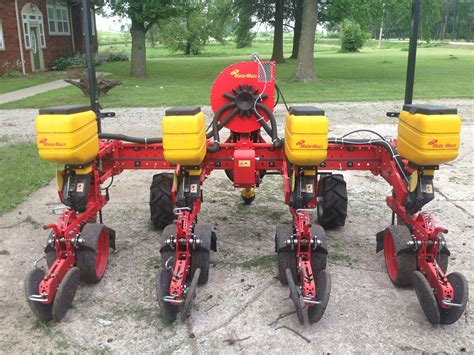 Four Row Planter by Sold Planter For Sale 2014 Matermacc Ms8200 Four Row