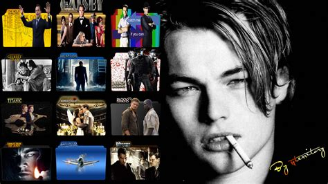 leonardo dicaprio movies leonardo dicaprio movies icon pack by gterritory on deviantart