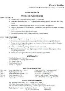 resume flight engineer